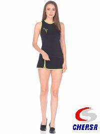 Юбка для гимнастики с цветным кантом