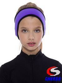 Повязка на голову со стразами из термобифлекса