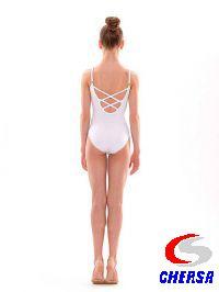Купальник для гимнастики без рукавов