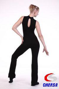 Комбинезон для танцев без рукавов из полиамида