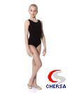 Классический гимнастический детский купальник из хлопка