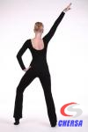 Комбинезон для танцев низ брюками из полиамида
