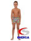 Плавки-шорты детские с принтом